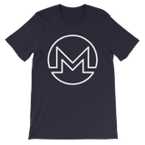 Monero / XMR OW T-Shirt Premium-Navy- Crypto & Proud