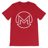 Monero / XMR OW T-Shirt Premium-Red- Crypto & Proud