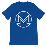 Monero / XMR OW T-Shirt Premium-True Royal- Crypto & Proud