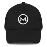 Monero / XMR RB Classic Hat-Black- Crypto & Proud