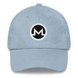 Monero / XMR RB Classic Hat-Light Blue- Crypto & Proud