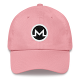 Monero / XMR RB Classic Hat-Pink- Crypto & Proud