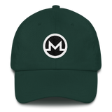 Monero / XMR RB Classic Hat-Spruce- Crypto & Proud