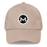 Monero / XMR RB Classic Hat-Stone- Crypto & Proud