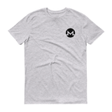 Monero / XMR SB T-Shirt Premium-Heather Grey- Crypto & Proud