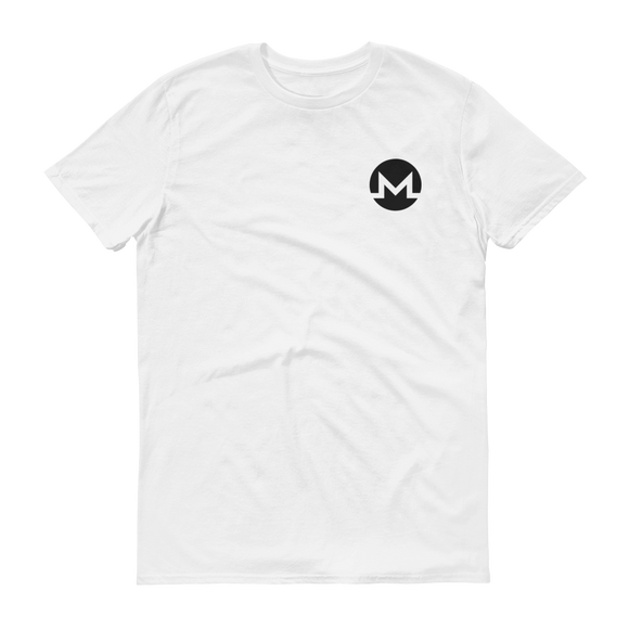 Monero / XMR SB T-Shirt Premium-White- Crypto & Proud