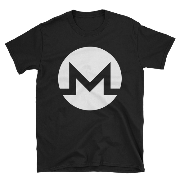 Monero / XMR W Softstyle T-Shirt-Black- Crypto & Proud