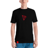 Tron / TRX BAS AACB All-Over T-Shirt-XS- Crypto & Proud