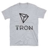 Tron / TRX BL Softstyle T-Shirt-Sport Grey- Crypto & Proud