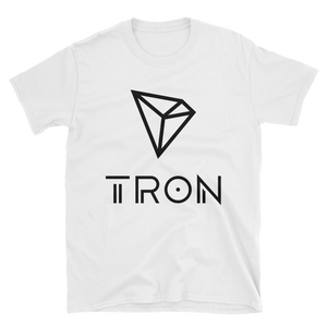 Tron / TRX BL Softstyle T-Shirt-White- Crypto & Proud