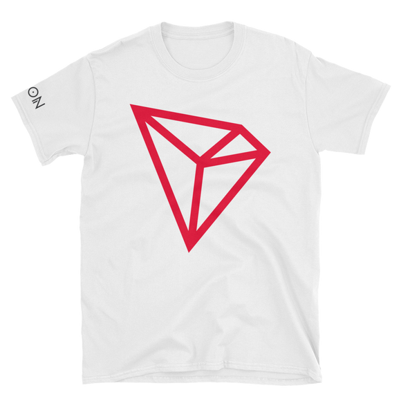 Tron / TRX C LC Softstyle T-Shirt-White- Crypto & Proud