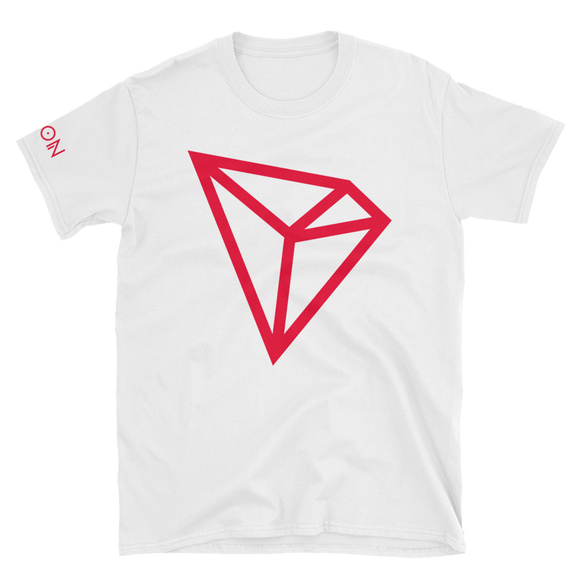 Tron / TRX C LCC Softstyle T-Shirt-White- Crypto & Proud