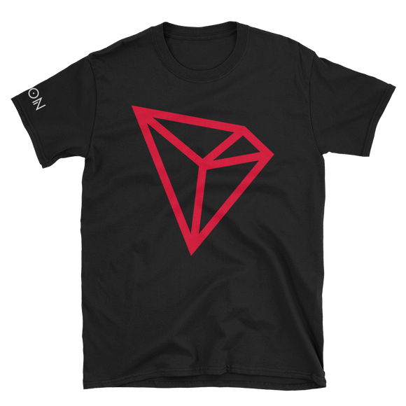 Tron / TRX C LW Softstyle T-Shirt-Black- Crypto & Proud