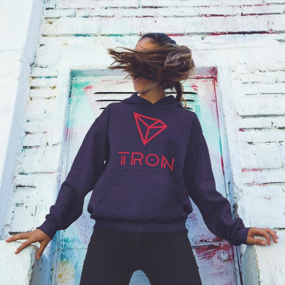 Tron / TRX CCL Hoodie- Crypto & Proud