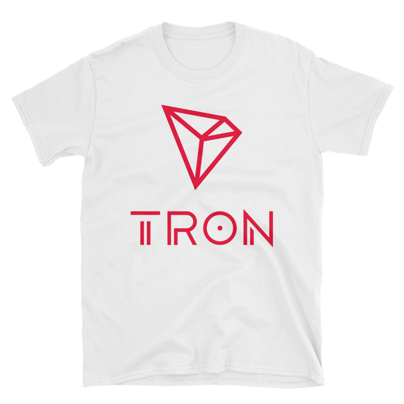Tron / TRX CCL Softstyle T-Shirt-White- Crypto & Proud