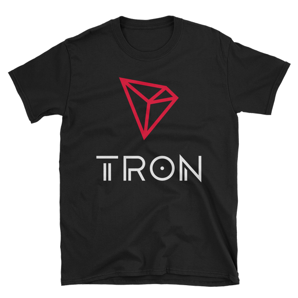 Tron / TRX CWL Softstyle T-Shirt-Black- Crypto & Proud