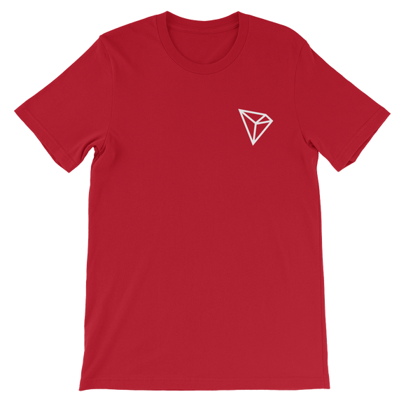 Tron/ TRX SW LW T-Shirt Premium-Red- Crypto & Proud