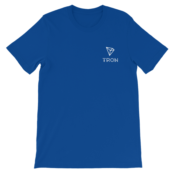 Tron/ TRX SWL T-Shirt Premium-True Royal- Crypto & Proud