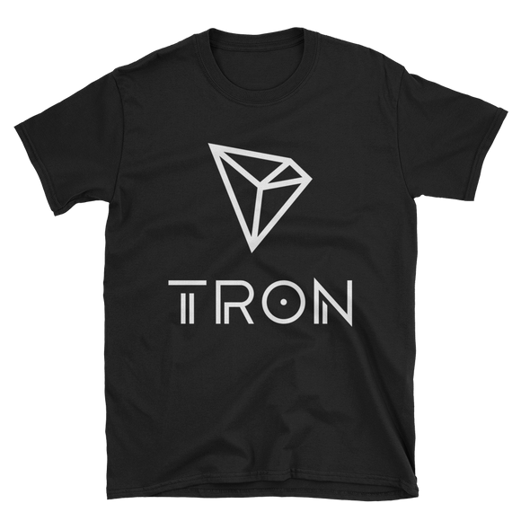 Tron / TRX WL Softstyle T-Shirt-Black- Crypto & Proud