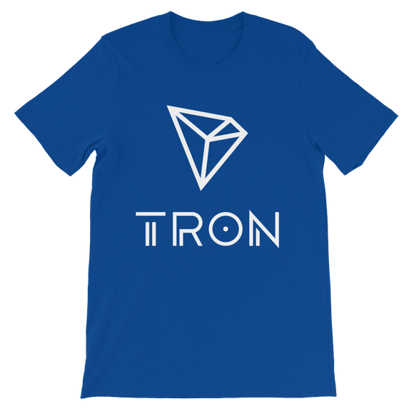Tron / TRX WL T-Shirt Premium-True Royal- Crypto & Proud