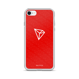 Tron / TRX WR iPhone Case-iPhone 7/8- Crypto & Proud