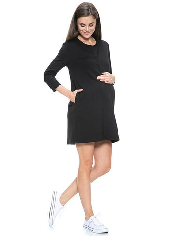 Toledo Maternity and Nursing Dress