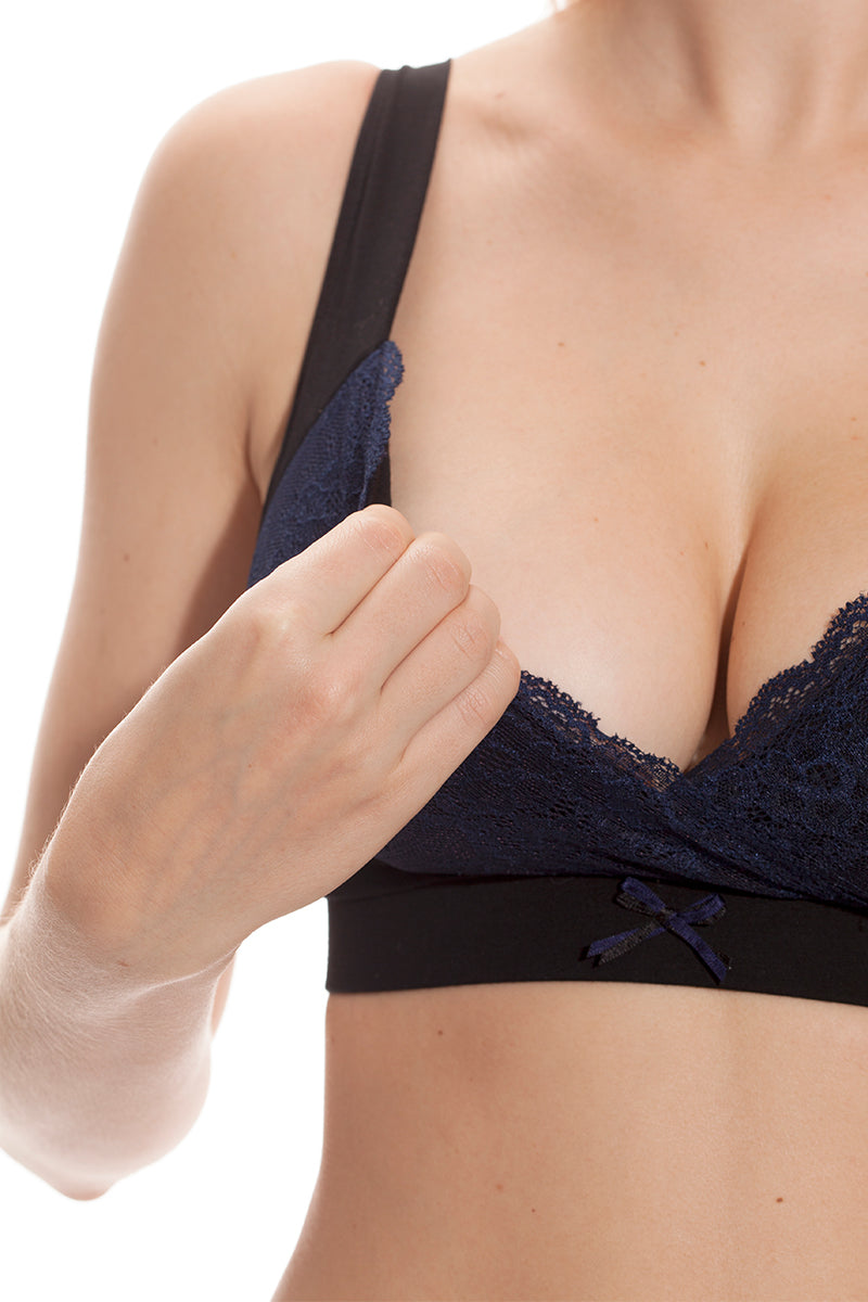 90805e131ecac Wireless Nursing Bra (Lace & Push-Up) - Shop Online At Mayarya