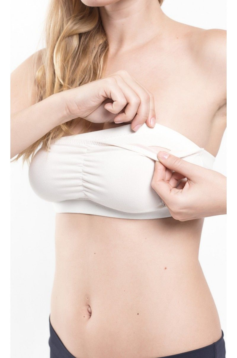 Organic Strapless Maternity and Nursing Bra