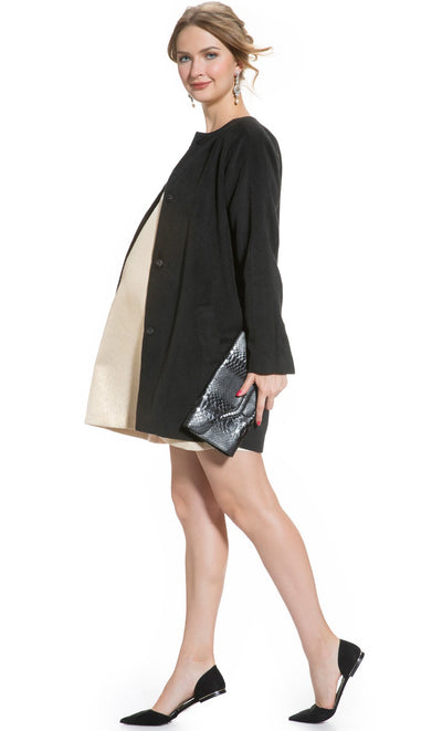 Cocoon Maternity Coat
