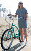 Short sleeves, Relaxed fit Long Beach Maternity and Nursing Dress