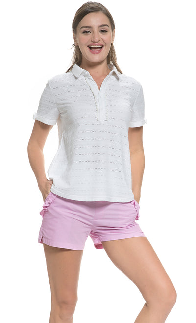 Cotton Ribbon Sleeved Top