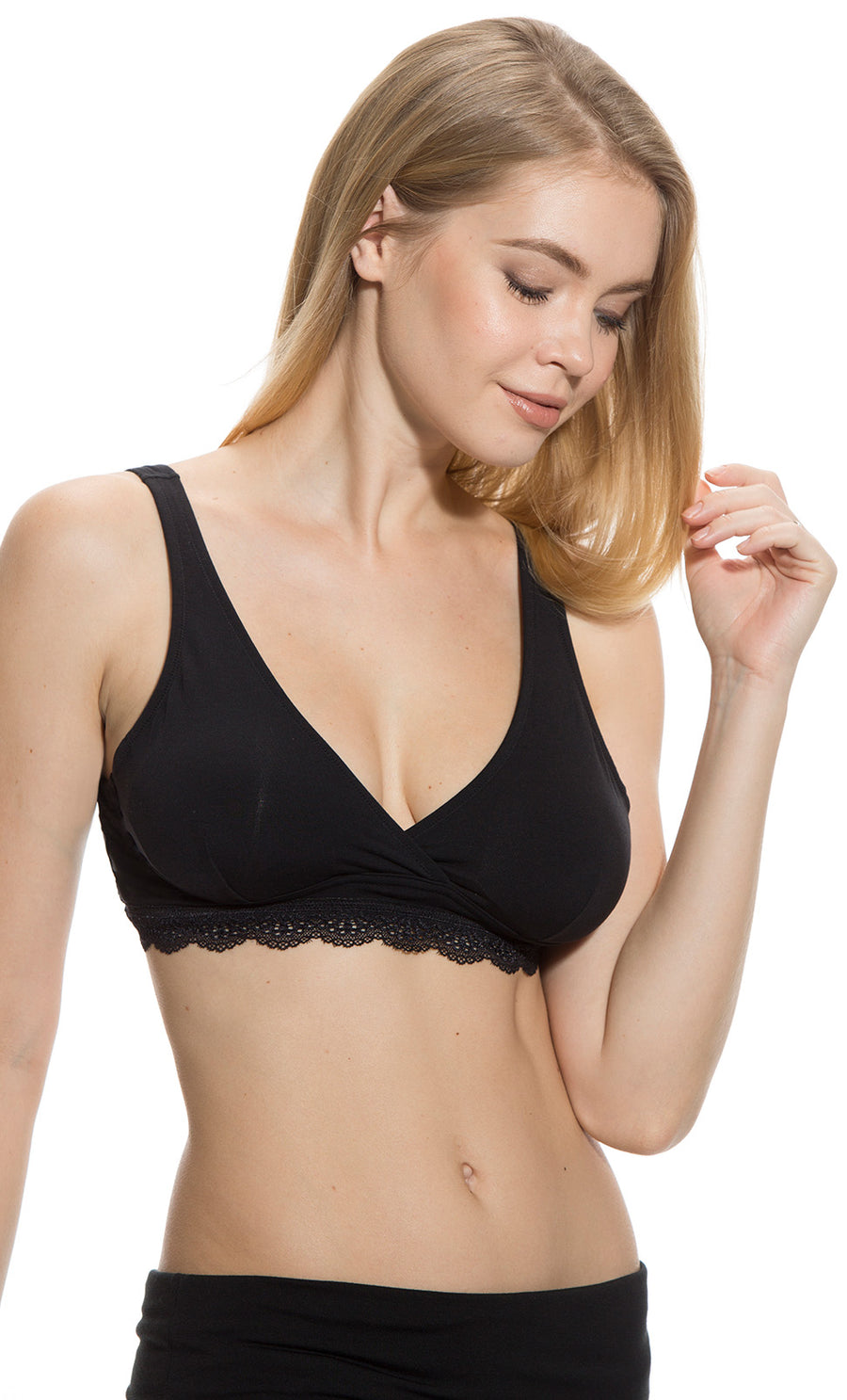 Comfortable Stylish Maternity Bras With Easy Nursing Access Mayarya