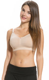 Seamless Padded Maternity and Nursing Bra