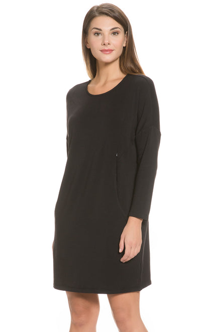 Fleece Lined Lounge Dress