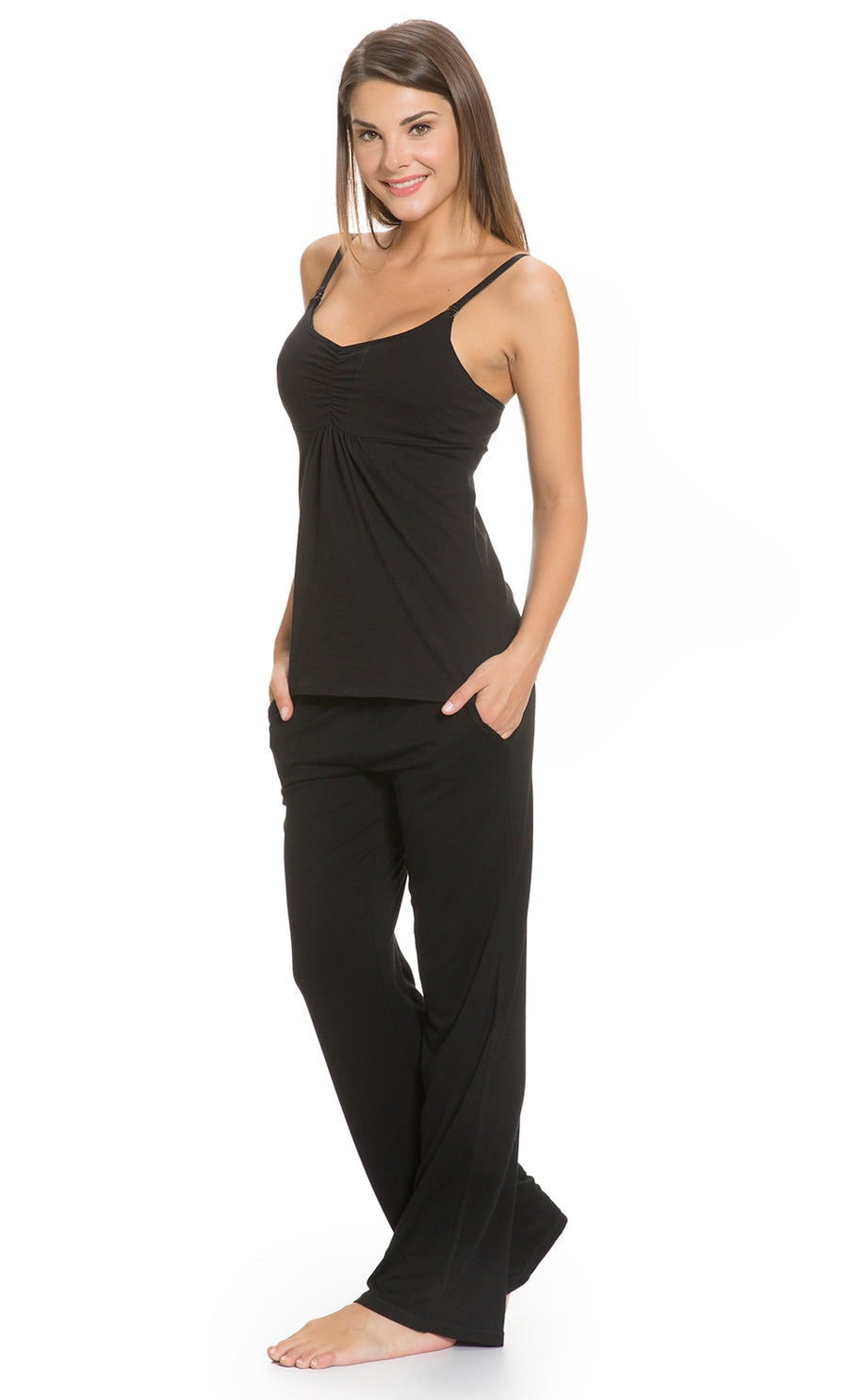 Fold Over Lounge Maternity Pants
