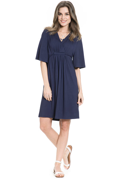 Tulum Dress in Navy