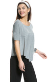 Asymmetrical Hem Top