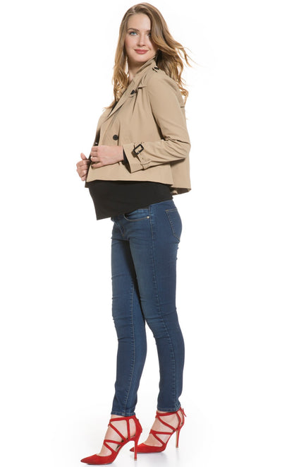 Trench Maternity Jacket