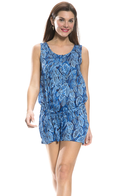 Tropical Leaf Romper