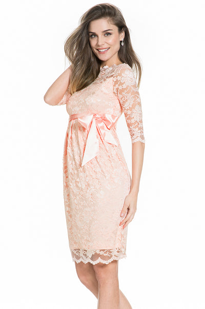 Lace Dress in Baby Pink