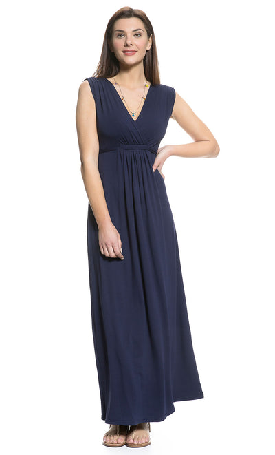 Bump Friendly Ischia Nursing and Maternity Maxi Dress