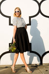 Water Resistant Daikanyama Skirt Black (One size)