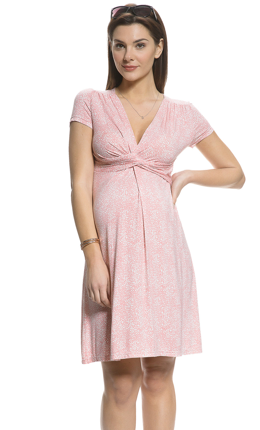 93f8d2e677e Grasse Maternity and Nursing Dress