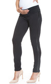 Faux Leather Side Treggings
