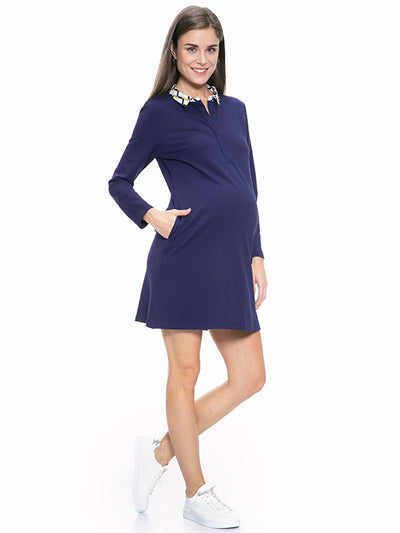 Madeira Maternity and Nursing Dress