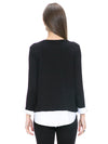 Layered Cashmere Blend Top