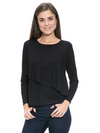 Waterfall Long Sleeve Top