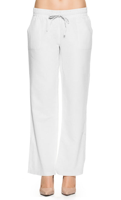 Under Belly Linen Pants