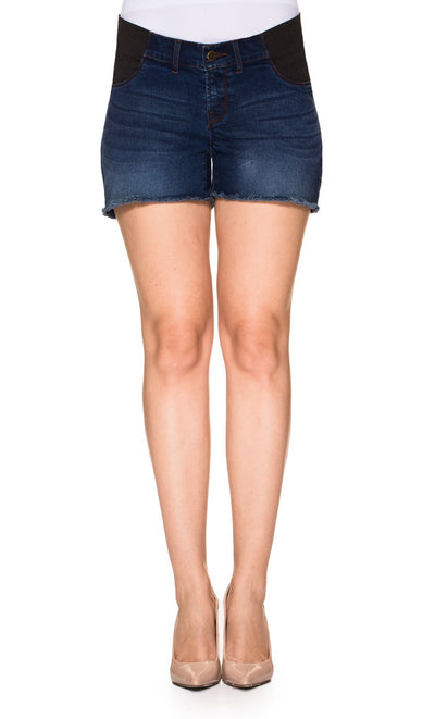 Denim Maternity Shorts