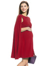 Cape Maternity Dress